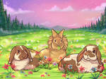 Rabbits in Heaven