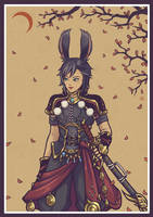 Warrior - FFXIV commissions by KucingKecil-Cabin