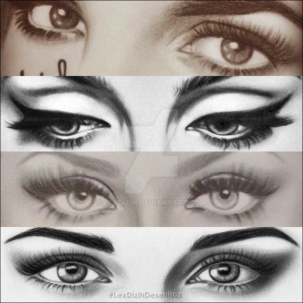 famous eyes by lexdizih on deviantart