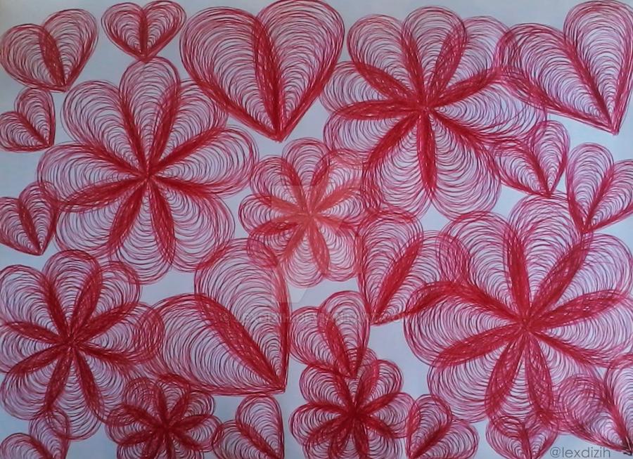 Heartflowers by LexDizih