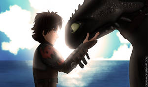 Thanks, buddy. (How to train your dragon)