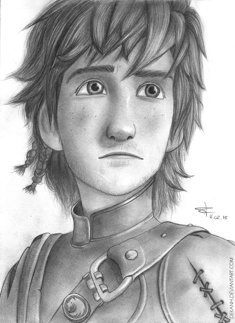 Hiccup (HTTYD) by Dekanh