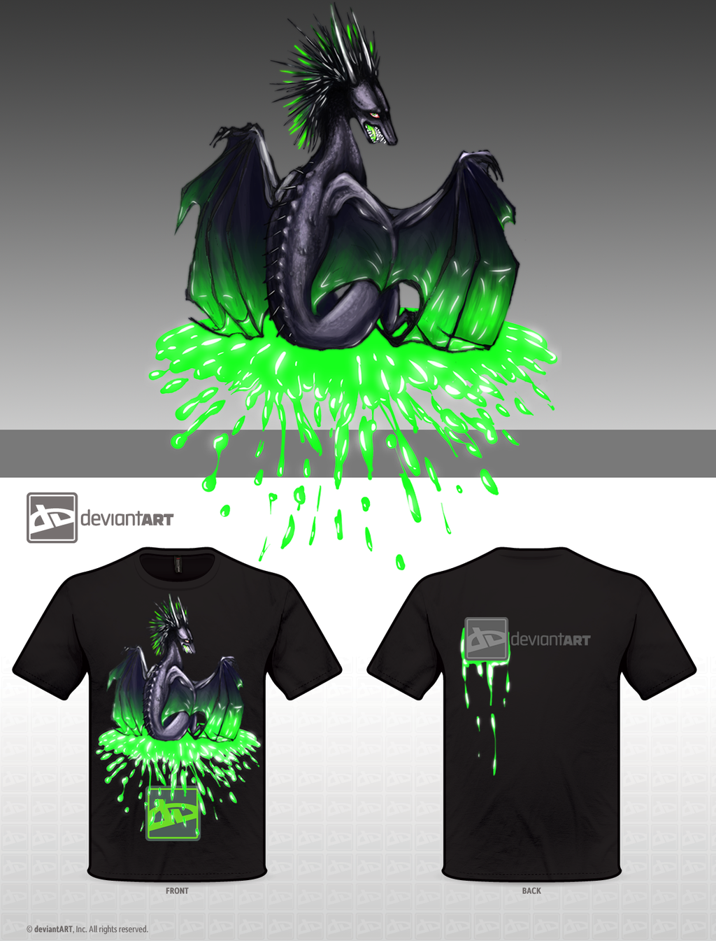 Green with Envy -- Mythical Creatures Contest by SkyGazerr