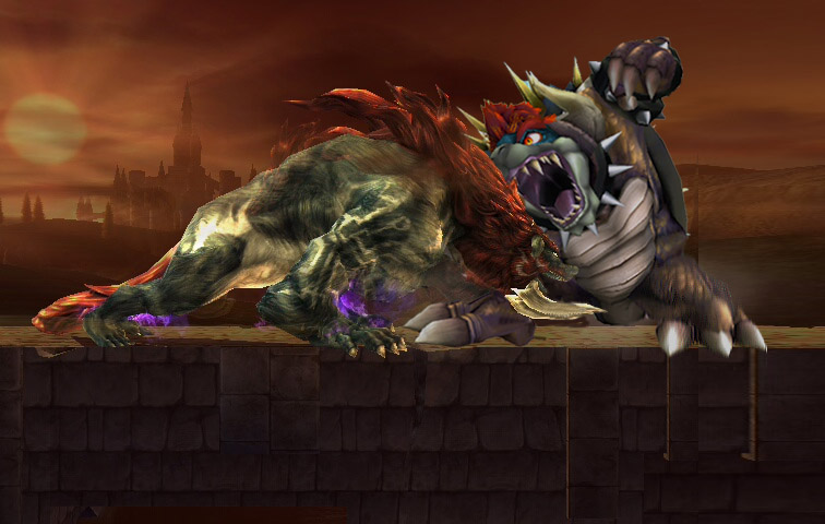 Beast Ganon vs Giga Bowser by Dark-Link117 on DeviantArt