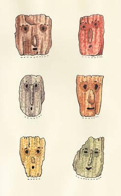 Moleskine 012. If trees had faces