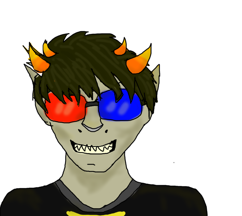 sollux captor fanart homestuck by tavrux on deviantart