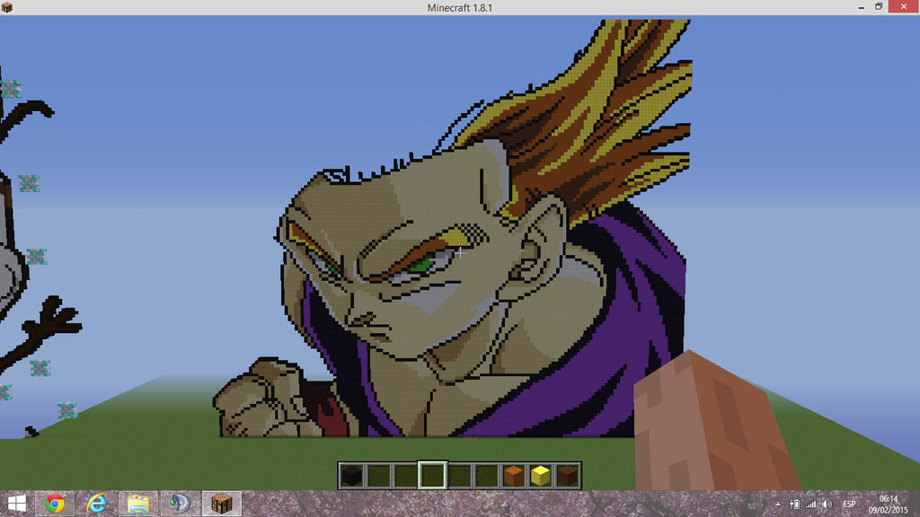Gohan Ssj2 Part 3 Pixel Art By Keweh On Deviantart