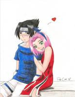 Sasuke and Sakura by PattyCake1992