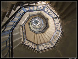 Winding staircase by fabula-docet