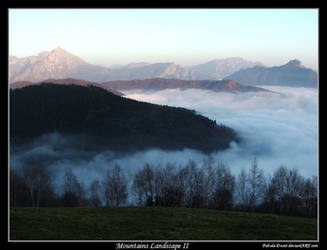 Mountains Landscape II by fabula-docet