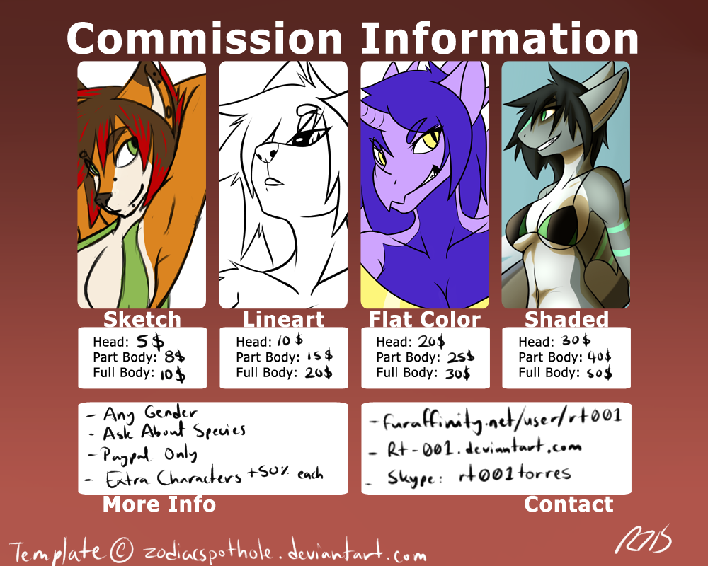 Commission Information by Rt-001