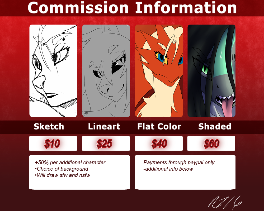 Rt-001's Commission Info by Rt-001