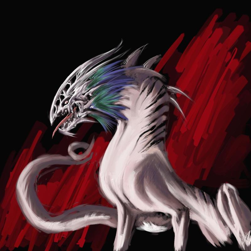 skull-gon by poompoom