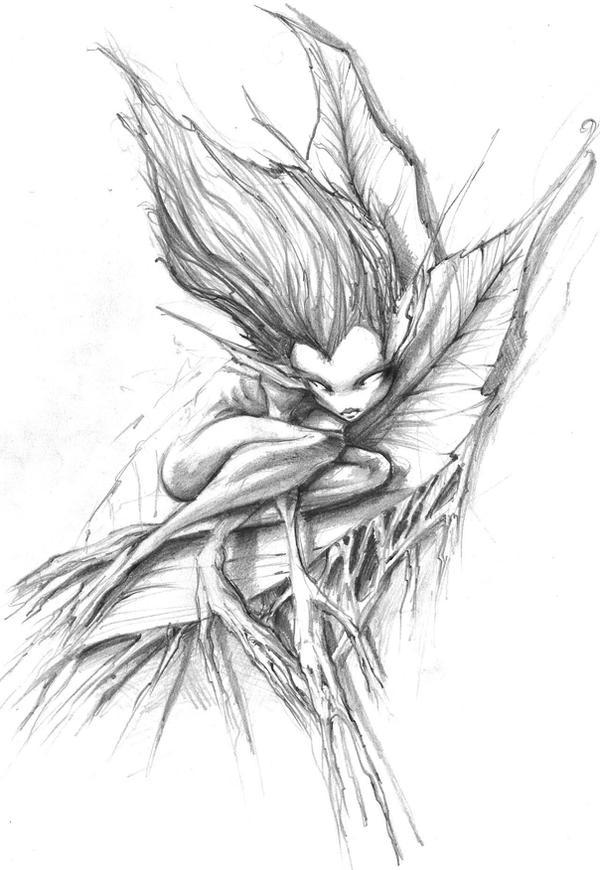 leaf pixie by poompoom