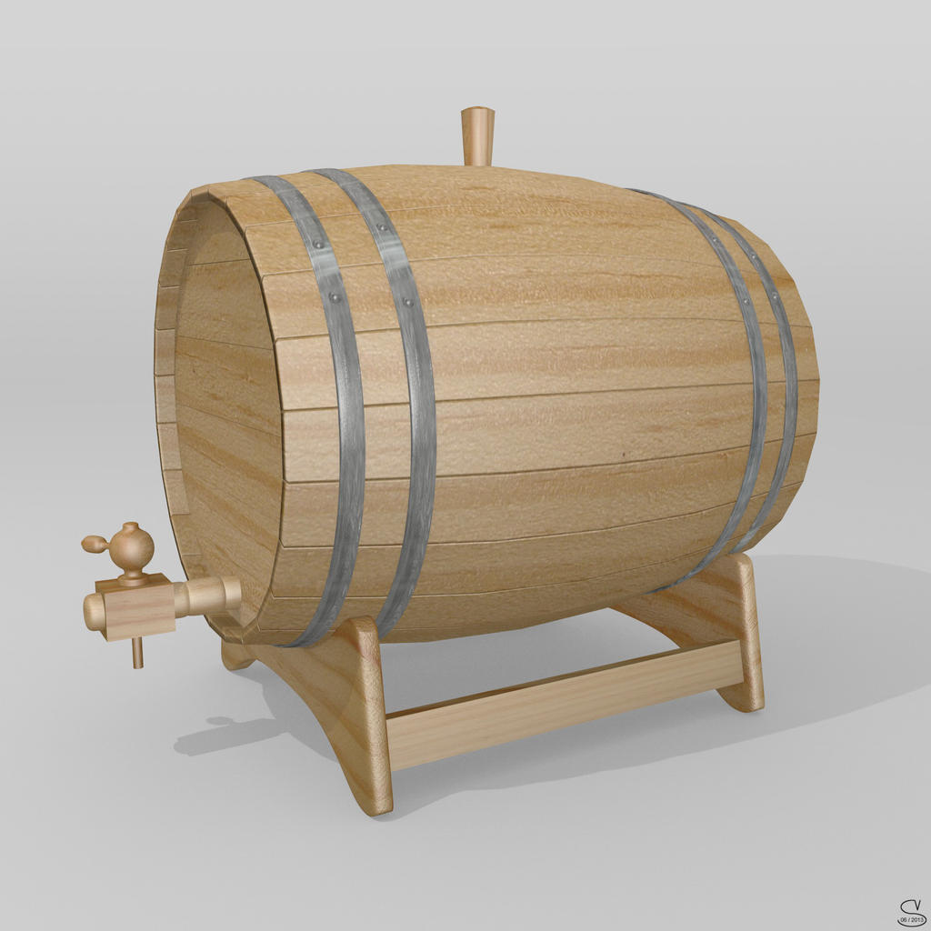 Barril de vino by zentaoaki on deviantart for Barriles de vino