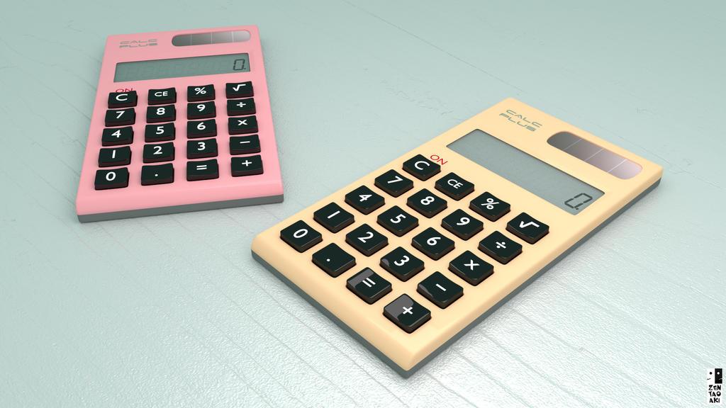 Calculadoras by zentaoaki