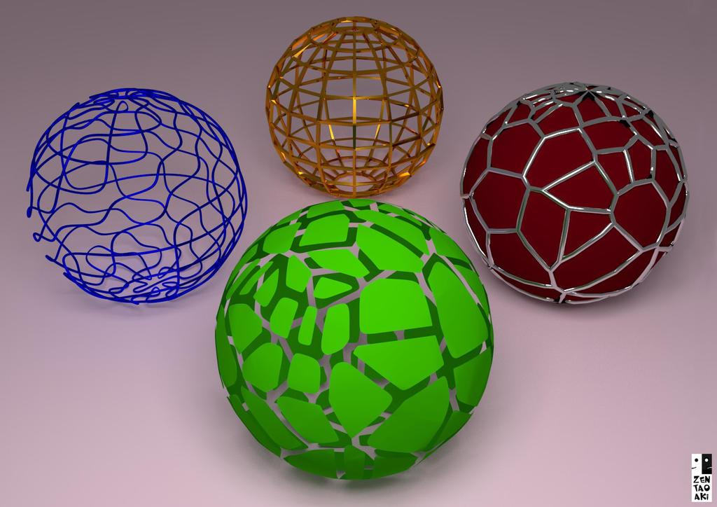esferas casuales by zentaoaki