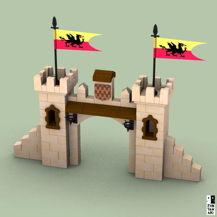 EXIN CASTILLOS - Puerta by zentaoaki