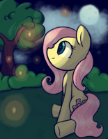 Fireflies. by Bloodatius