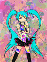 Miku Hatsune from Tell Your World by 7goodangel