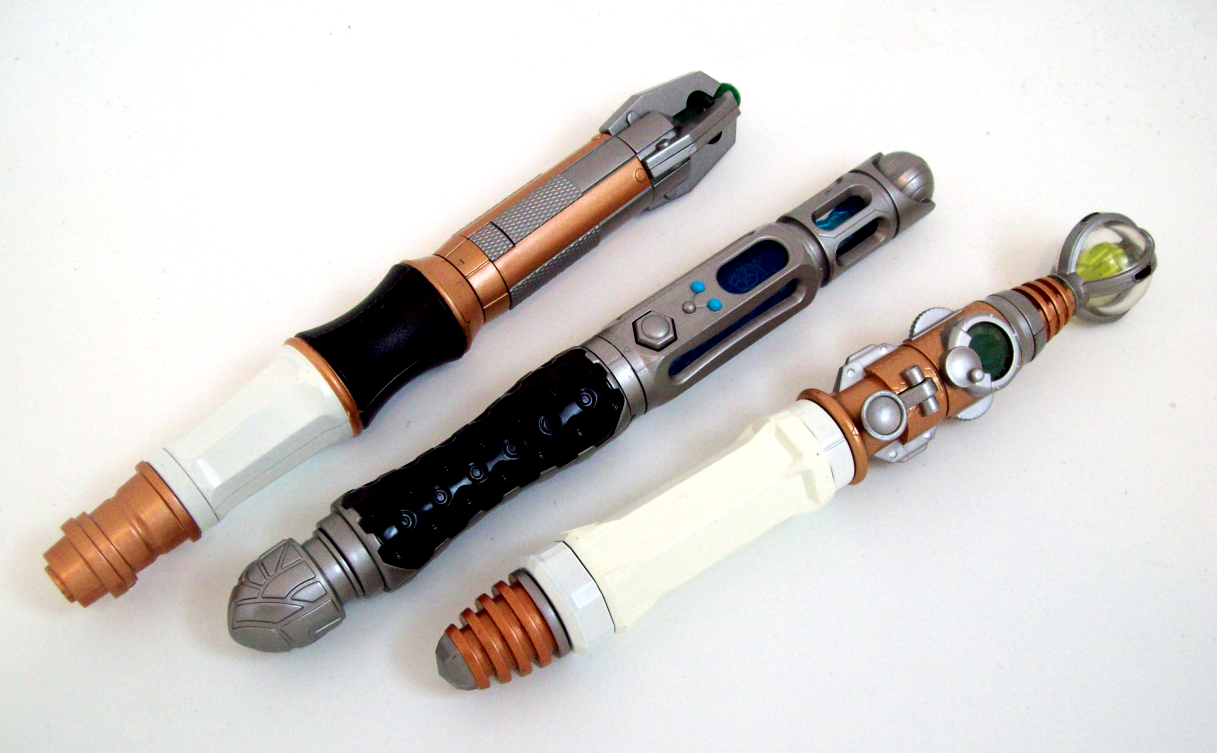 how to make a sonic screwdriver out of a pen
