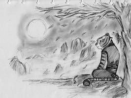 Lonesome  Tigress by NeoMakusha