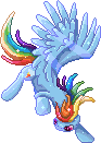 Free Rainbow Dash Page Doll by GlacialFalls