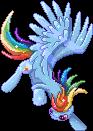 Free Rainbow Dash Page Doll by GlacialFalls