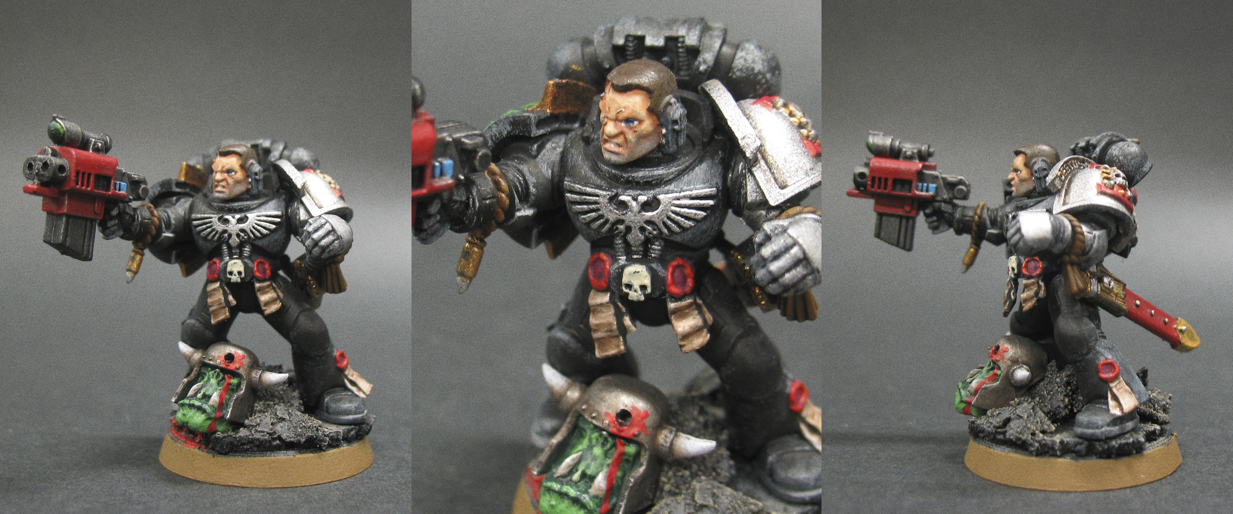 40k deathwatch captain titus by budsky on deviantart - Titus wallpaper ...