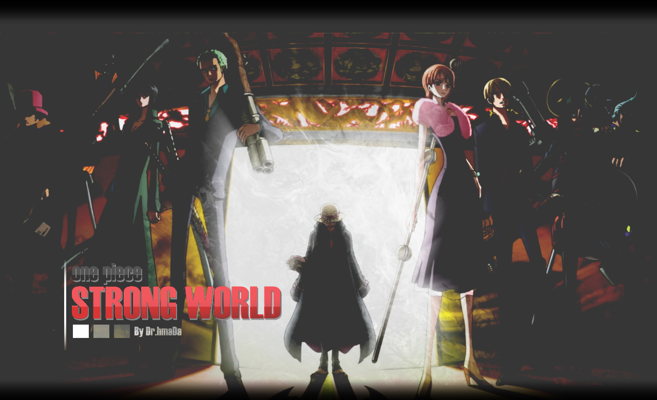 One Piece Strong World By Dr 7mada On Deviantart