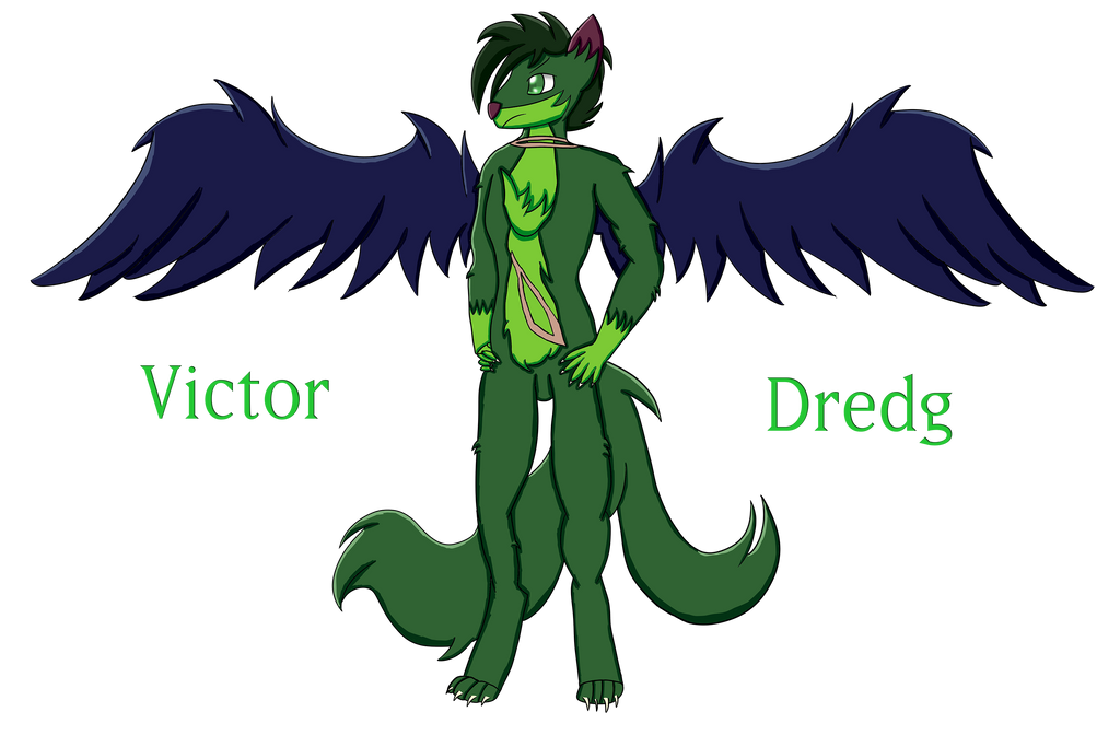 Furry OC - Victor Dredg by BrightDrive