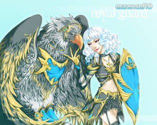 RO: EssenceRO Royal Guard by elentarihikari