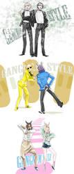 OC in Gangnam Style by elentarihikari