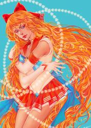 Sailor Venus by elentarihikari