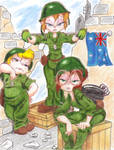 Chipettes At War colored