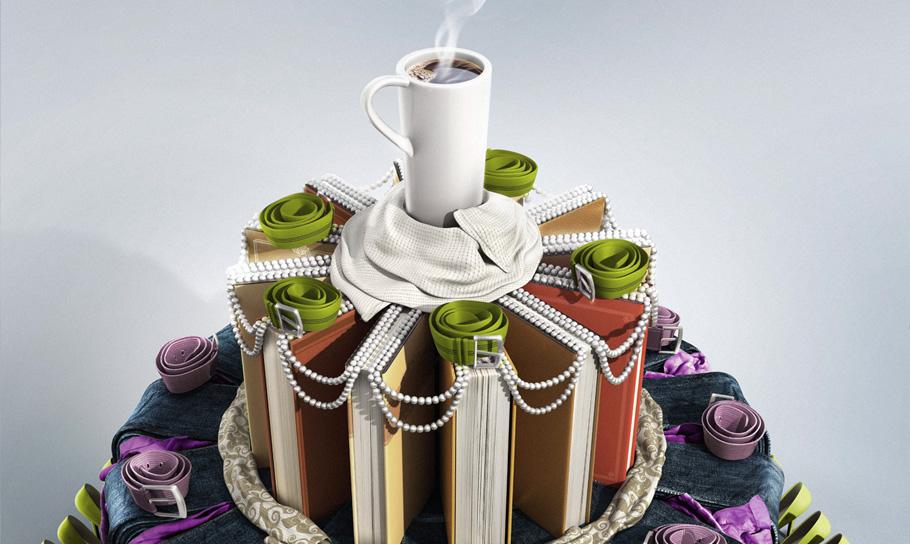 Unusual cake by radoxist on DeviantArt