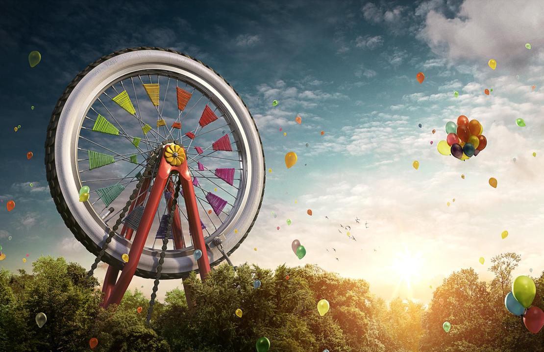 carousel bike visual by radoxist d4c2834 - Avatar M� Ar�yorsun ? T�kla