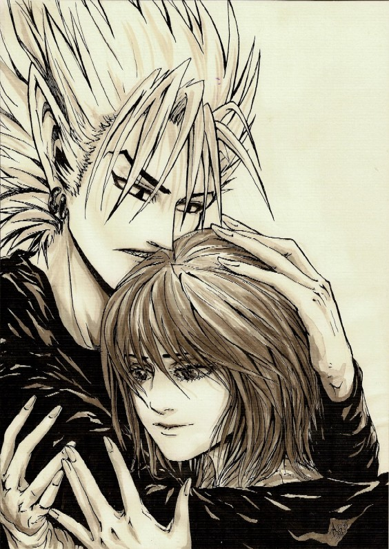 Hiruma And Mamori By Aishi Love