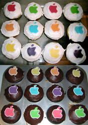 Think Different Cupcakes by Zappe