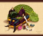 One piece : Crocodile by eyekonoha