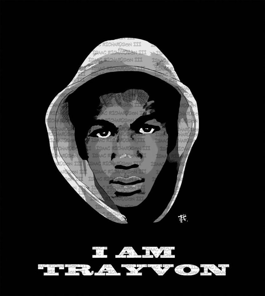 I Am Trayvon by Thomas-Anderson