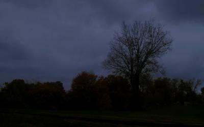 Night Falls on the Graveyard by Mistshadow2k4