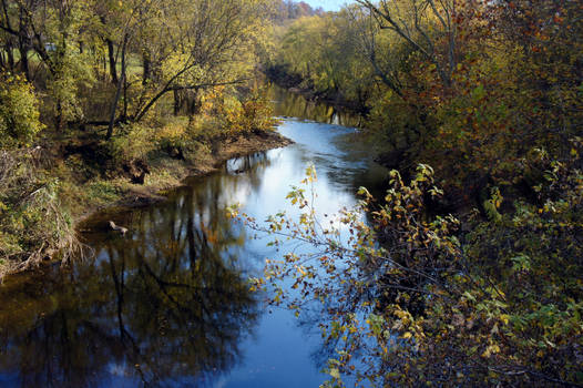 Russell Creek in October