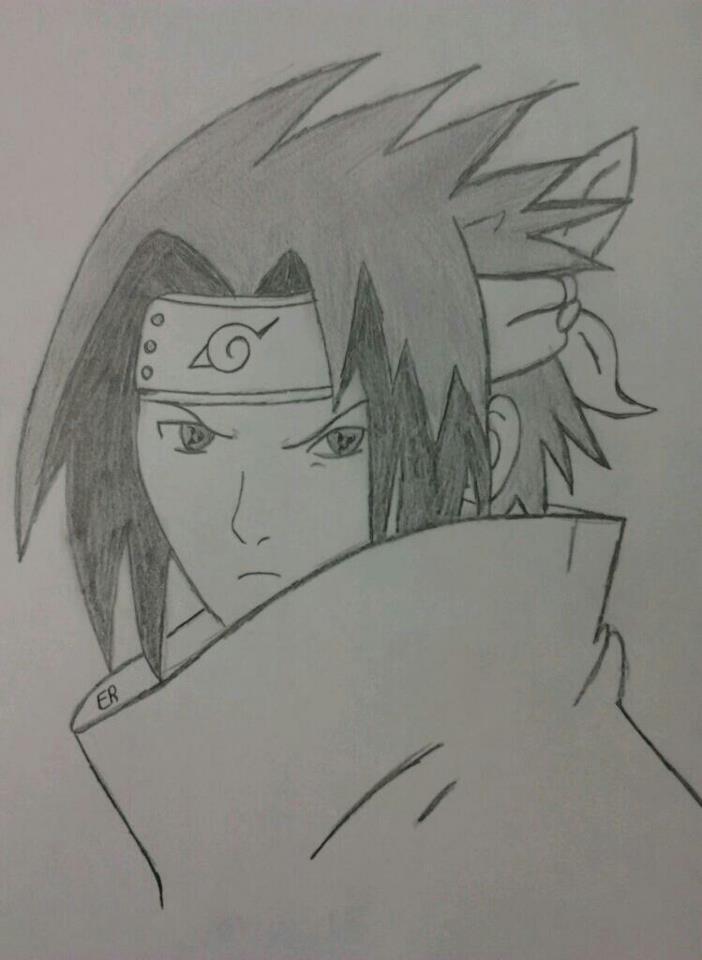 Sasuke Drawing By Lizzywolffire6 On Deviantart