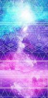 Free to use - Custom Box Galaxy Aztec Background