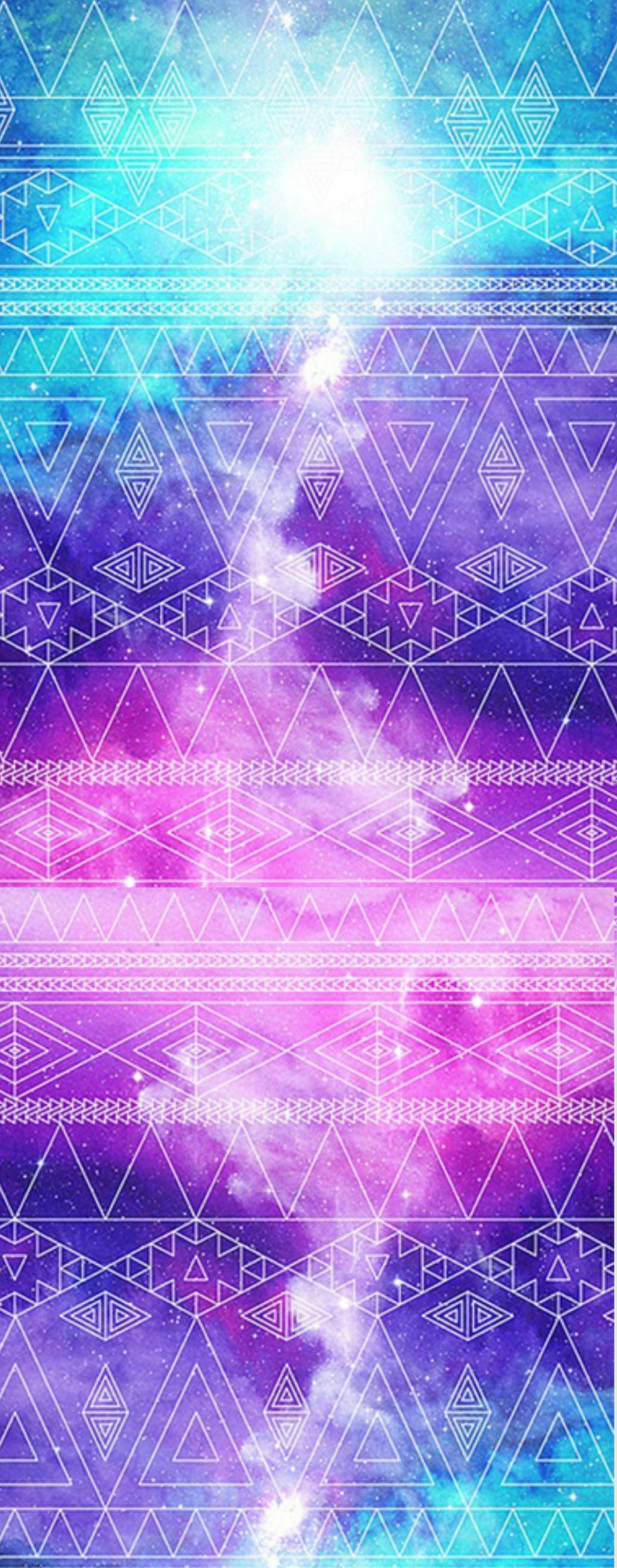 Free To Use Custom Box Galaxy Aztec Background By Lizzywolffire