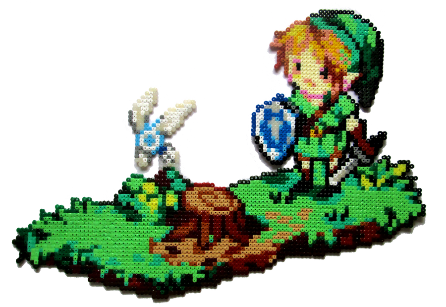 Link + Navi by Aenea-Jones