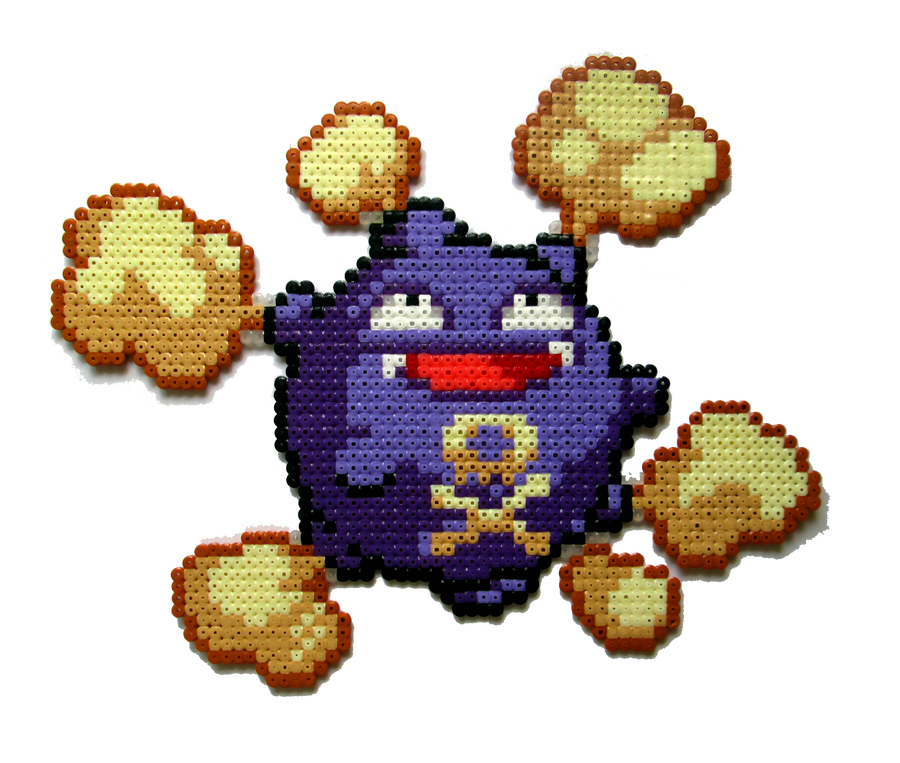 #109 - Koffing by Aenea-Jones