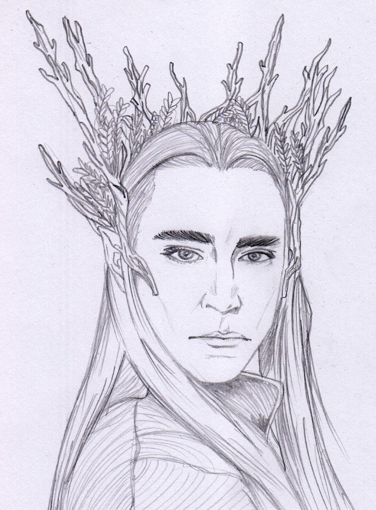 Thranduil Coloring Page Coloring Pages