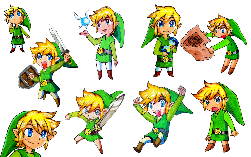Link galore! [WP] by Aenea-Jones